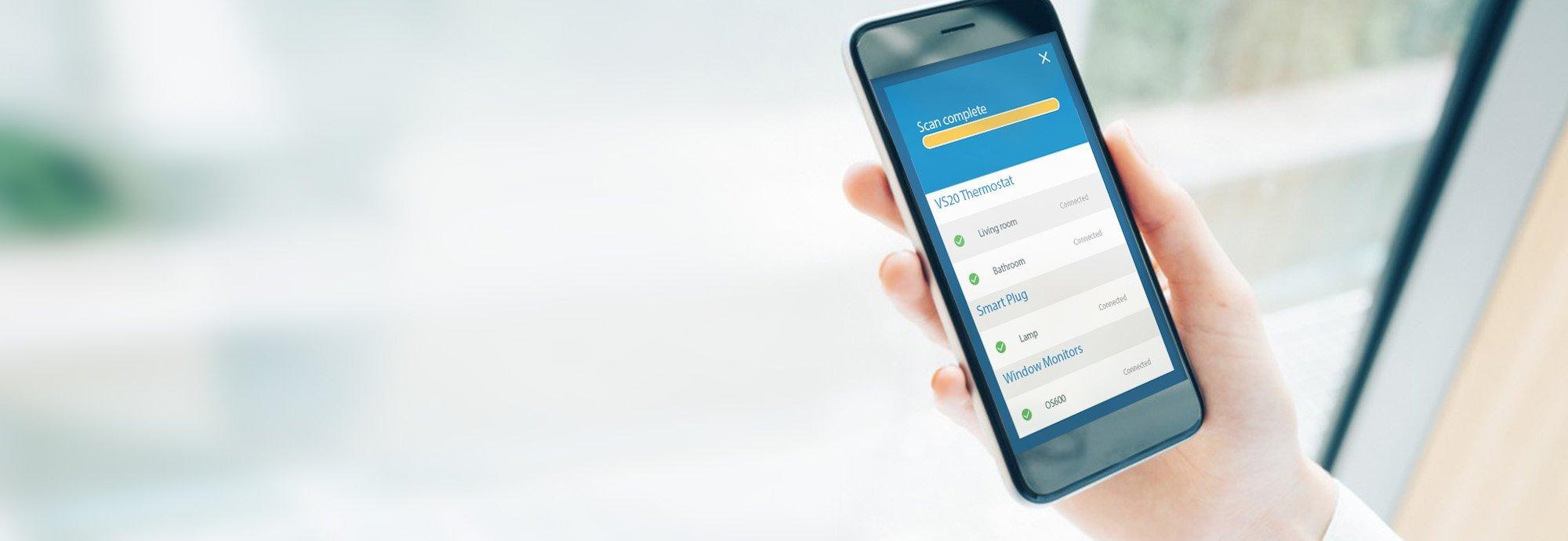Ознакомьтесь с новым приложением iT600 Smart Home Демо-версия приложения